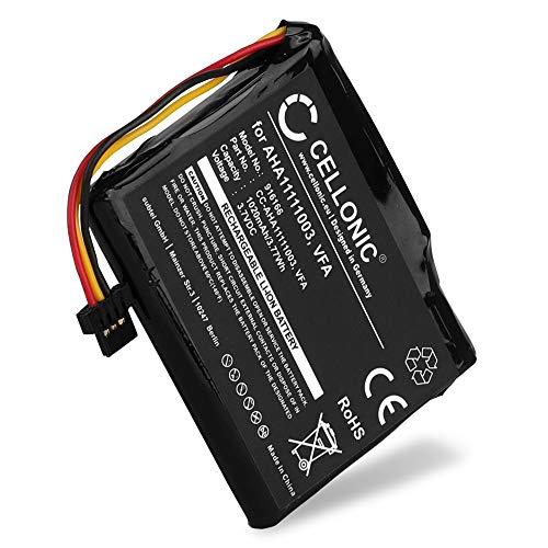 CELLONIC® Batería de Repuesto VFA VF6D AHA11111003 AHA11111006 Compatible con Tomtom GO 5000 / Via 1605 / Start 60, Start 60 (4EN62), 1020mAh Accu GPS Pila sustitución Battery