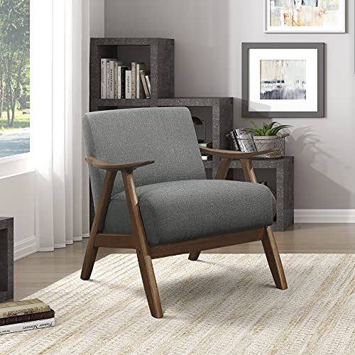 Lexicon Elle Accent Chair, Gray