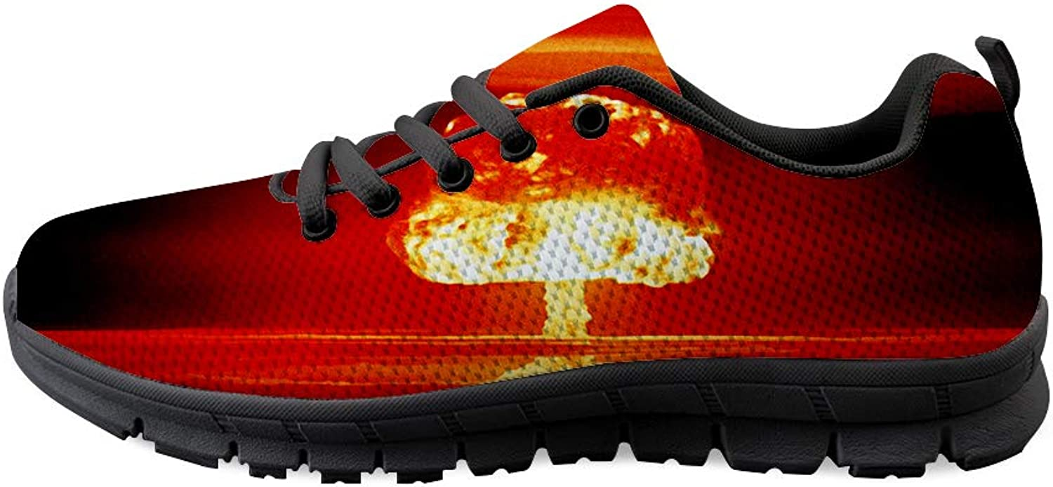 Owaheson Lace-up Sneaker Training shoes Mens Womens Nuclear Blast As Sunset