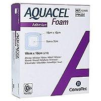 New and Improved AQUACEL EXTRA Hydrofiber Dressing 4 x 4 (10 Per Box) by Aquacel