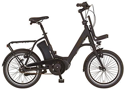 "Prophete Unisex– Erwachsene URBANICER ETU.10 Urban E-Bike 20\"" AEG EcoDrive C, schwarz, RH 46"