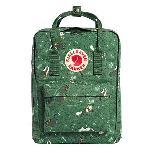 Fjällräven Känken Art Laptop 13 Rucksack, 35 cm, 13 Liter, Green Fable