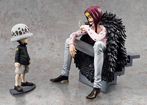 Rrfay 12-16cm One Piece Corazon Trafalgar Law Anime Figura de acción Coleccionable PVC Juguetes