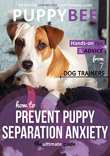 How to Prevent Puppy Separation Anxiety: The Ultimate Guide: Hand-on tips and advice from 7 dog trainers (Puppy Training: The New Method Book 4)