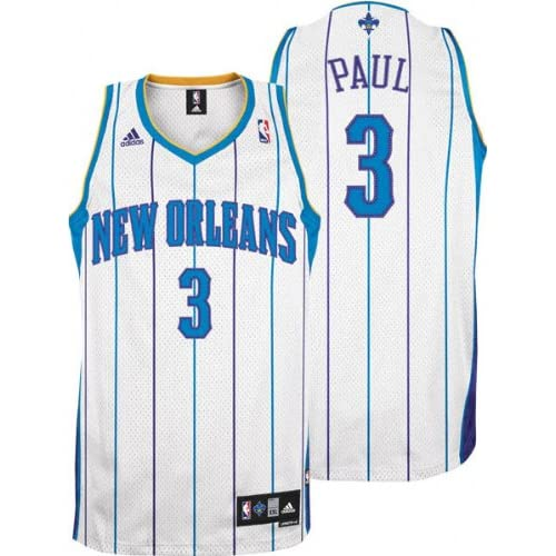 Amazon.com   Chris Paul New Orleans Hornets  3 Home Swingman Adidas ... 3367bf177