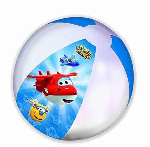 GIM Nickelodeon Ballon de Plage Gonflable-Super Wings, 872-85130, 45 cm