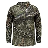 Mossy Oak Women's Standard Shirts, Hunting Clothes Quarter Zip, Country DNA, Large