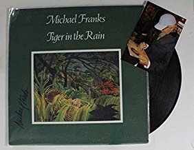 Michael Franks Signed Autographed