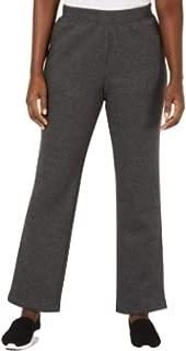 Karen Scott Side-Pocket Active Pants Charcoal Size XXL