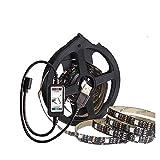 Luces Led Habitacion Luz de tira del RGB Bluetooth SMD5050 5M 3M 4M cinta Neon Tira de la cinta Ledstrip flexible USB 5V de televisión Luz de fondo (Emitting Color : Bluetooth set)