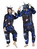 CASABACO Christmas Onesie Adult Unicorn Onesie Costume Women Pajama Halloween, XL