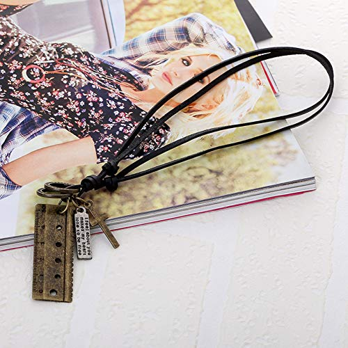FJKWLC Car Rear View Mirror Pendant Simulation Pipunk Alloy Necklace Pendant