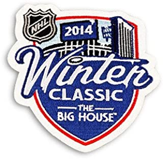 2014 NHL Winter Classic Game Logo Jersey Patch (Detroit Red Wings vs Toronto Maple Leafs)