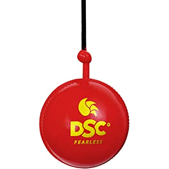 DSC Hanging Synthetic Cricket Ball (Red)