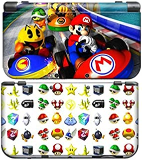 MARIO KART C for New Nintendo 3DS N3DS Skin New3DS Decal Sticker Vinyl Cover + Screen Protectors