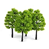 20 Pieces Model Trees Mixed Model Tree Train Trees Railroad Scenery Diorama Tree Architecture Trees for DIY Scenery Landscape