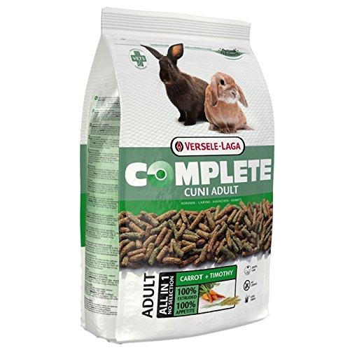 Versele-Laga Cuni adulto completo 8 kg. Una comida saludable y bien equilibrada, apta para conejos