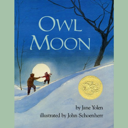 Owl Moon audiobook cover art