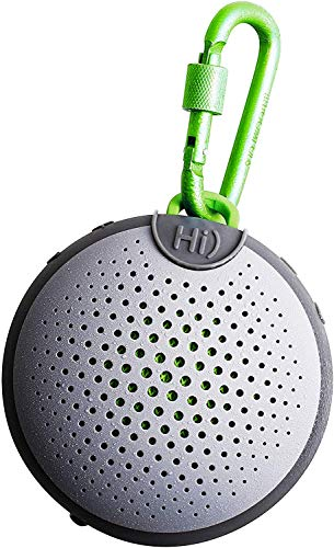 BOOMPODS AQUABLASTER Waterproof Bluetooth Speaker - Portable & Wireless with Amazon Alexa - Awesome Listening in Shower, Pool or the Beach with 5-hours of Active