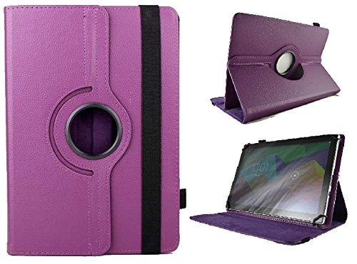 Drehbare Schutzhülle für Toshiba Excite At10 10,1 Zoll Tablet – Violett