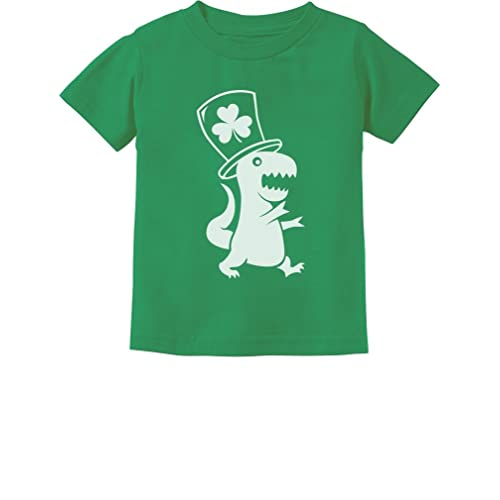 e299d949b Irish T-Rex Dinosaur Clover Hat St. Patrick's Day Toddler/Infant Kids T
