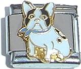 Black And White Pug Italian Charm