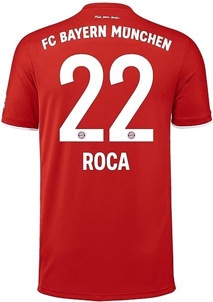 FC Bayern München Maglietta da uomo in casa, stagione 2020/21 ...