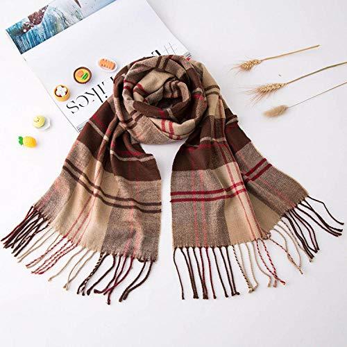 Smilecstar-Scarves Damen Long Scarf Schal, One Size