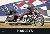 Harleys 2020 - Bildkalender quer (50 x 34) - Technikkalender - Fahrzeuge - Motorrad-Kalender - Wandkalender: by Christian Popkes