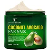 Best Hair Mask For Dry Hairs - Botanic Hearth Coconut Avocado Hair Mask for Hair Review