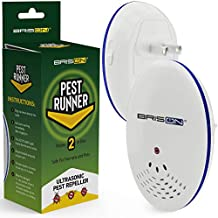 Pest Control Ultrasonic Repellent - Electronic Pest Control Repels Mice Rats Spiders Roaches Ants Snakes Rodents & Bats - Ultrasonic Pest Repeller Human & Quiet & with a Night Light [2 Pack]