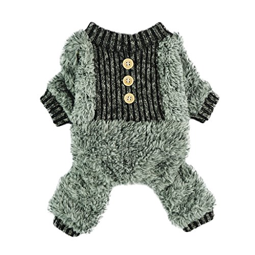 Fitwarm Fuzzy Velvet Thermal Pet Clothes for...