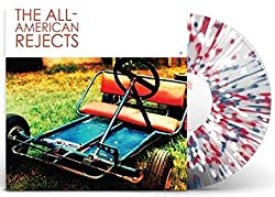 The All American Rejects (Exclusive Limited Edition Clear With Red, White And Blue Splatter Vinyl) [Condition-VG+NM]