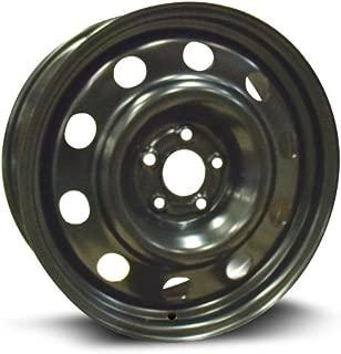 RTX, Steel Rim, New Aftermarket Wheel, 17X7, 5X108, 63.5, 40, black finish X47508