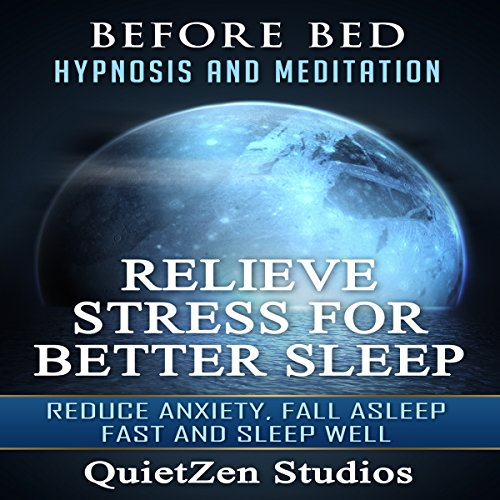 Relieve Stress for Better Sleep audiobook cover art