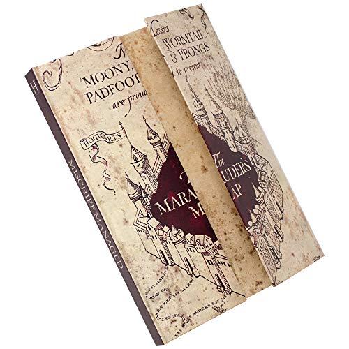 Blue Sky Designs Carnet de notes Motif carte du Maraudeur Harry Potter Format A5