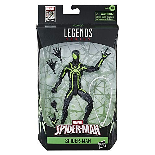 Marvel Classic- Legends Spider-Man, Multicolor (Hasbro E86085L0)