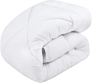 EchoAMZ 掛け布団 シングル 掛けふとん 増量タイプ 中綿1.9kg 総重量2.5kg 洗える 冬用布団 暖かい 柔らかな肌触り 抗菌防臭 150x210cm アレルギー対策 無地