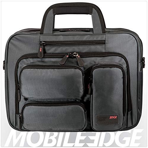 Mobile Edge Graphite Series Corporate Laptop Briefcase 16 Inch PC and 17 Inch Mac, Premium...