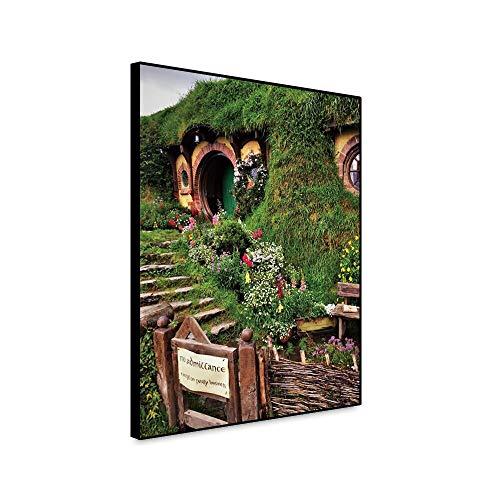 LPaWD Tuin Canvas Schilderijen Bloemen Print En Posters Voor Woonkamer Muur Home Decoratieve Foto Home Art Decoratie Muurschildering A3 60x90cm