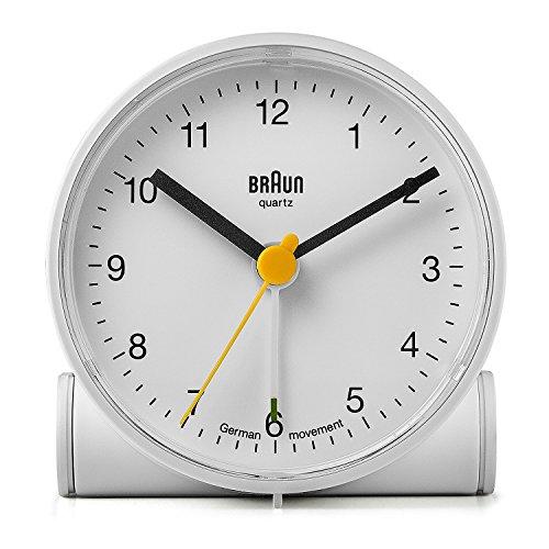 BRAUN(ブラウン) 目覚まし時計 BNC001WHWH [並行輸入品]