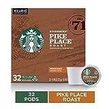 Starbucks Pike Place Roast Medium Roast Single Cup Coffee for Keurig Brewers, 1 box of 32 (32 total...