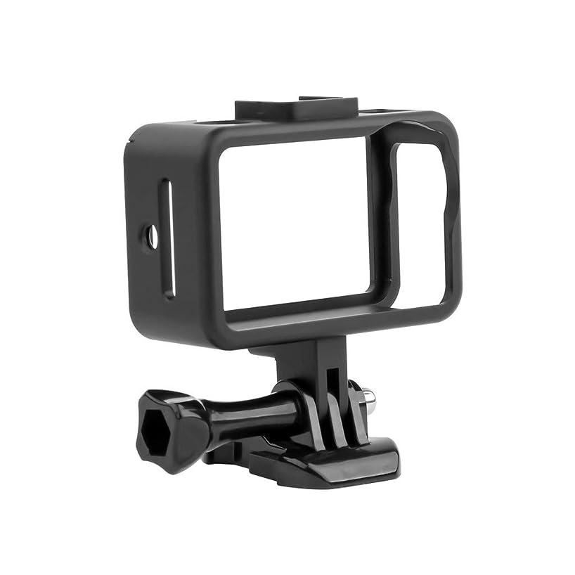 Hanku????Premium Aluminum Protective Frame Housing Case Shell for DJI OSMO Action Camera