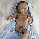 OUBL 22pulgadas 55 cm Cuerpo Entero Silicona Vinilo Muñecas Reborn muñeco Bebe Baby Doll niña niño Recien Nacido Juguetes Regalos