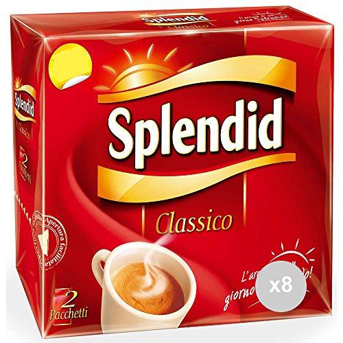Splendid 8 Kaffee Classico 2 x 250 gr Analytische Getränke, Mehrfarbig, Einheitsgröße
