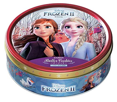 ブルボン バタークッキー缶(アナと雪の女王) 60枚