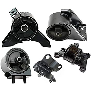 amazon com k2143 fits 2000 2001 mazda 626 2 0l auto engine motor trans mount full set 5pcs a4406 a4401 a6476 a6463 a6440 automotive omni 5