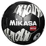 【Amazon.co.jp 限定】MIKASA(ミカサ) 【MIFoA】サッカーボール検定球 SVC400AZ-BKW ホワイト×ブラック 4号球