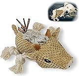 Hundespielzeug,Langlebiges Material und Knitterpapier weiches Plüsch-Hundespielzeug, interaktives Hundespielzeug für kleine und mittlere Hunde zum Kauen (Wildschwein)