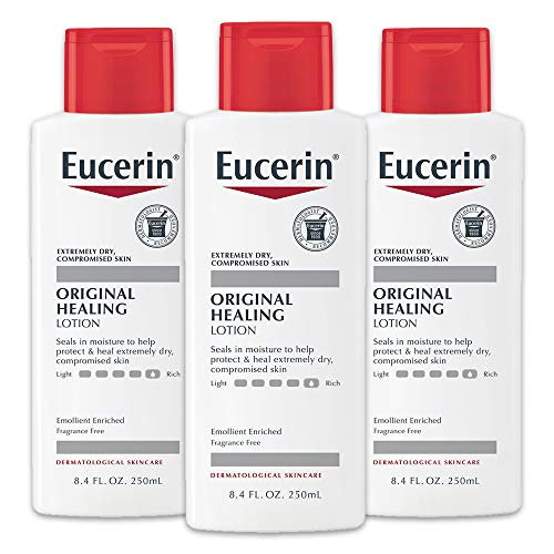 (24% OFF) Pack of 3 Eucerin Original Healing Lotion – Fragrance Free $16.02 Deal